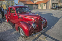 1939 Ford Standard Coupe Street Rod Royalty-vrije Stock Afbeelding