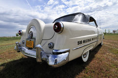 1953 Ford Sunliner Convertible Pace Car Royalty-vrije Stock Foto