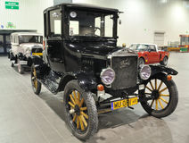 Ford T. Antique Car 1920 Ford Model T in the automotive exhibition OLDTIMER BAZAR Royalty Free Stock Photo