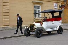 Ford T ab 1905, Replik stockfotografie