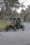 1912 Ford T Runabout. Adelaide, Australia - September 25, 2016: Vintage 1912 Ford T Runabout driving on country roads near the town of Birdwood, South Australia Stock Image
