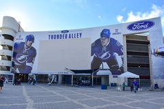 Ford Thunder Alley Royalty Free Stock Photos