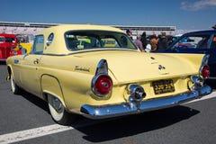 1955年Ford Thunderbird汽车 图库摄影