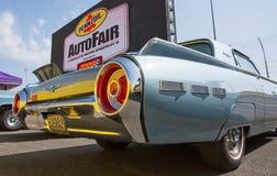 1962年Ford Thunderbird 免版税图库摄影