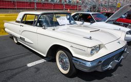 1958年Ford Thunderbird 图库摄影
