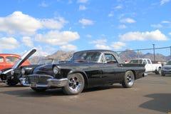 1957年Ford Thunderbird 免版税图库摄影