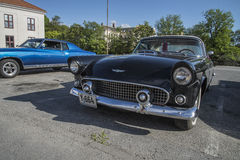 Ford 1956 Thunderbird Fotografia Stock