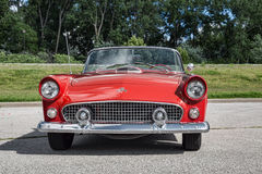 1955 Ford Thunderbird Royalty-vrije Stock Afbeelding