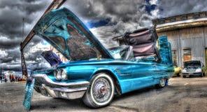 1965年Ford Thunderbird 库存照片