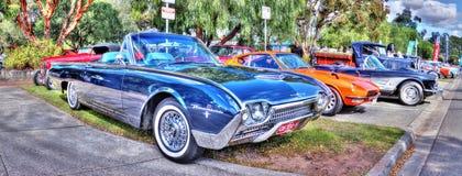 经典Ford Thunderbird 库存图片