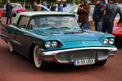 1956年Ford Thunderbird 库存照片