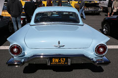 1957年Ford Thunderbird 图库摄影