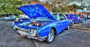 Ford Thunderbird blu Fotografia Stock Libera da Diritti