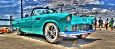Ford Thunderbird Convertible Fotografering för Bildbyråer