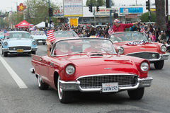 Ford Thunderbird Convertible Fotografia de Stock