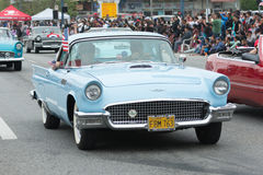 Ford Thunderbird Convertible Royalty-vrije Stock Fotografie