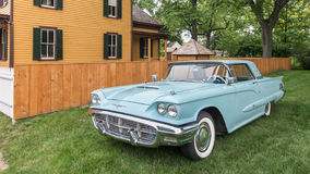 1960 Ford Thunderbird. DEARBORN, MI/USA - JUNE 20, 2015: A 1960 Ford Thunderbird car at The Henry Ford (THF) Motor Muster, held at Greenfield Village Stock Photos