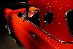 Ford Thunderbird 1955-57 royaltyfri foto