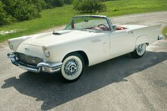 1957 Ford Thunderbird-zitting  stock foto's