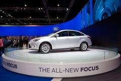 Ford todo el nuevo coche del foco Fotos de archivo libres de regalías
