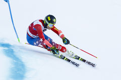FORD Tommy in Audi Fis Alpine Skiing World-Kop Royalty-vrije Stock Foto's