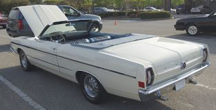 1968 Ford Torino Convertible Royalty-vrije Stock Afbeelding