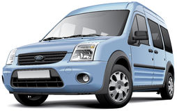 Ford Tourneo Connect I stock de ilustración