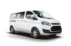 Ford Tourneo Custom Minibus Royalty Free Stock Photos