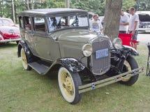 Ford TownSedan 1931 Arkivbild