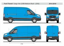Ford Transit Cargo Van LWB Medium Roof L3H2 2014-2018