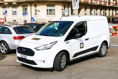 Ford Transit Connect lizenzfreies stockfoto