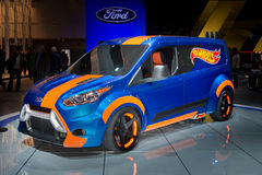 Ford Transit Connect Hot Wheels Immagini Stock