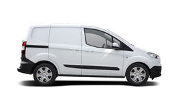 Ford Transit Courier Royalty Free Stock Photography