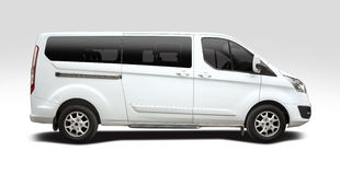 Ford Tourneo Custom Minibus Stock Photography