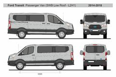 Ford Passenger Van >> Passenger Van Ford Stock Illustrations 45 Passenger Van