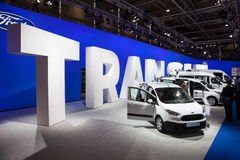 Ford Transit Vans Stock Images