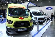 Ford Transit-ziekenwagen stock afbeelding