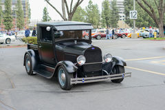 Ford truck classic car on display Royalty Free Stock Image