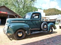 Ford Truck. A classic Ford truck manufactured around 1950 Stock Photos