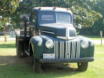 Ford Truck. An old heavy duty Ford truck with Mississippi tag Stock Images