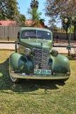 Ford Two-Door Coupe 1936 med mullerSeat den främre sikten Royaltyfri Fotografi