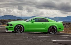 Ford Мustang 2006 GT Стоковое фото RF