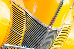 Ford V8 zwyczaju grille zdjęcie stock