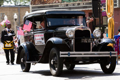 Ford Veterans Limousine Royalty Free Stock Photo