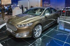 Ford Vignale al salone dell'automobile di Ginevra Immagini Stock Libere da Diritti