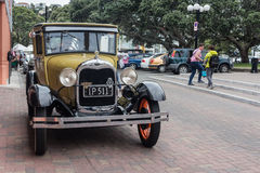 Ford Vintage Car in Napier, New Zealand 1927 - 1930 Stock Image