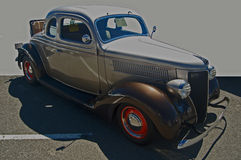 1936 Ford 5-window coupe Royalty Free Stock Photo