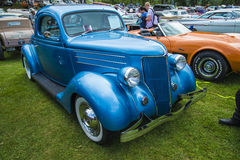 1936 ford 3 window coupe Stock Image