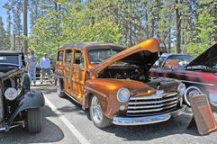 Ford Woodie Arkivbild