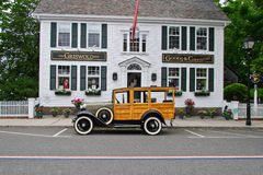 Ford Woodie (1931) Griswold Inn Royalty Free Stock Images